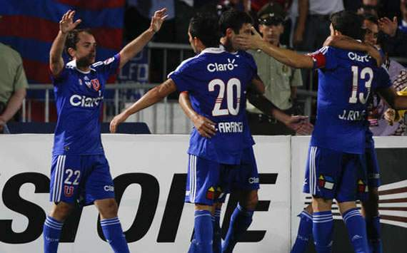 Universidad de Chile 5 – 1 Godoy Cruz